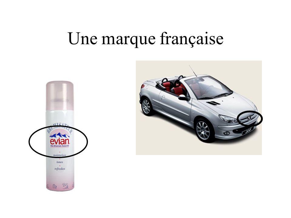 Une marque française