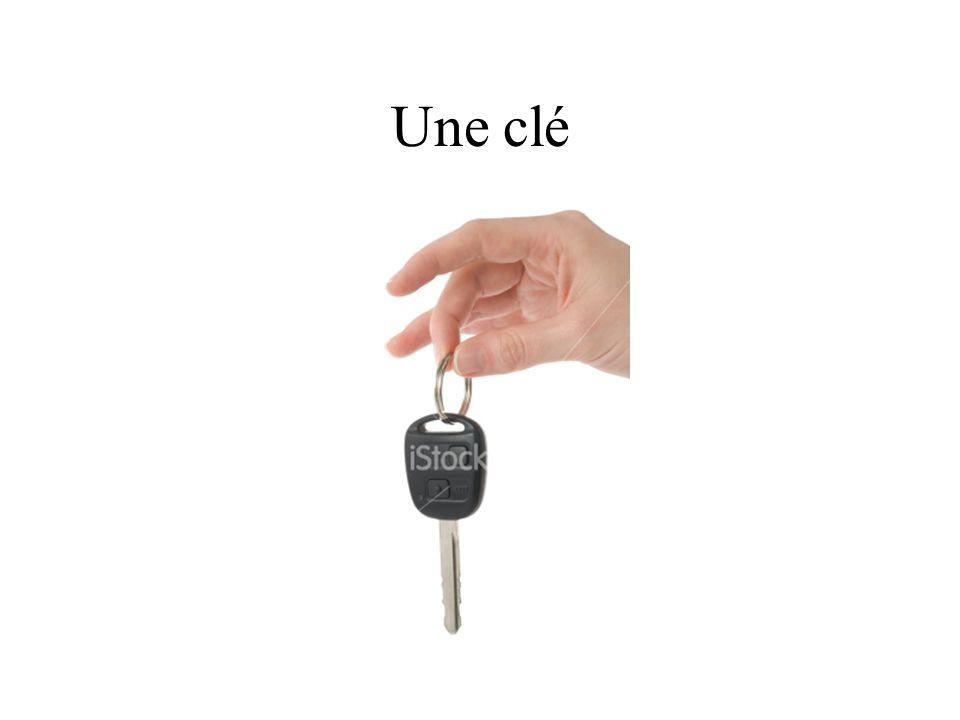 Une clé