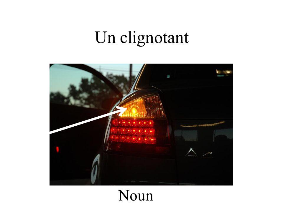 Un clignotant Noun
