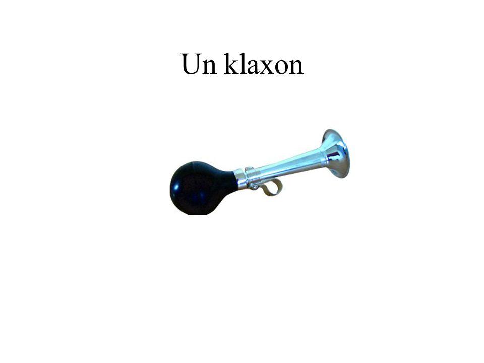 Un klaxon