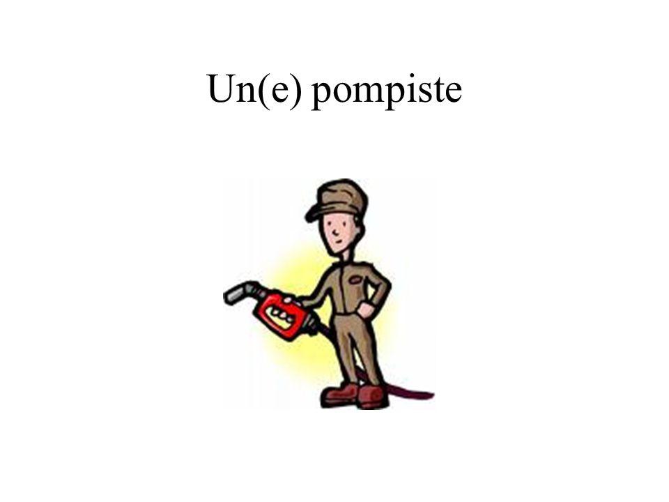 Un(e) pompiste