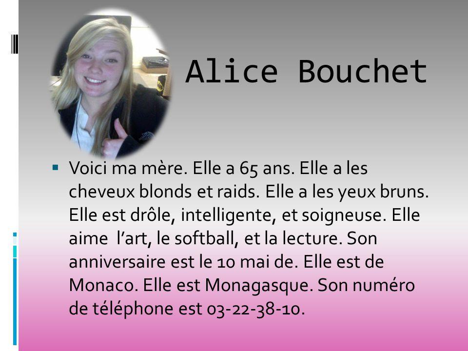 Alice Bouchet
