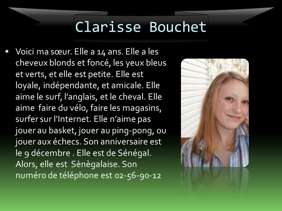 Clarisse Bouchet