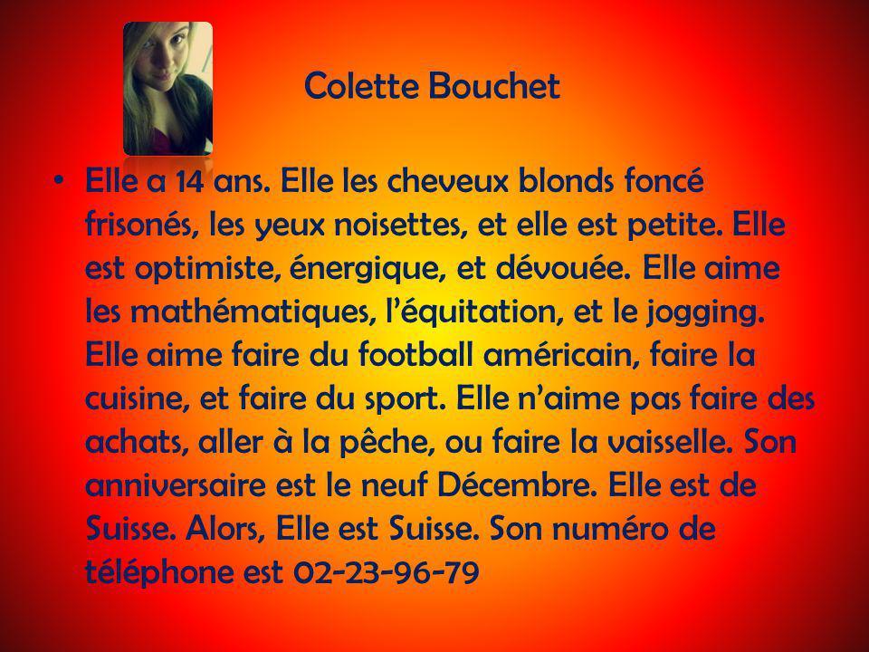 Colette Bouchet