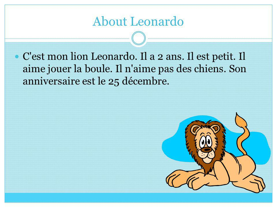 About Leonardo