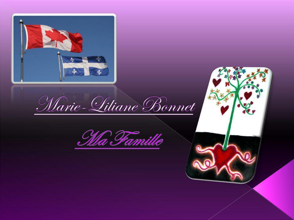 Marie-Liliane Bonnet Ma Famille