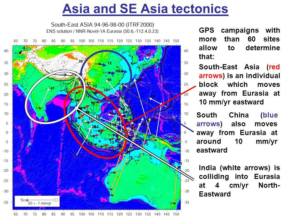 Asia and SE Asia tectonics