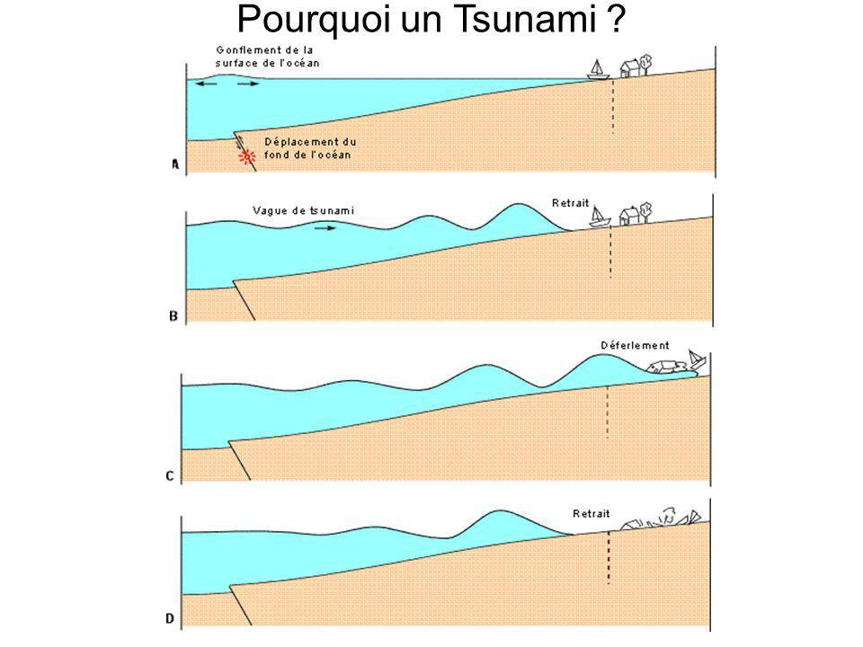Pourquoi un Tsunami