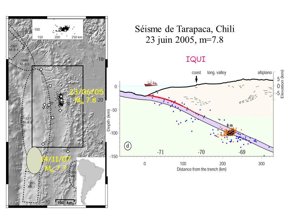 Séisme de Tarapaca, Chili
