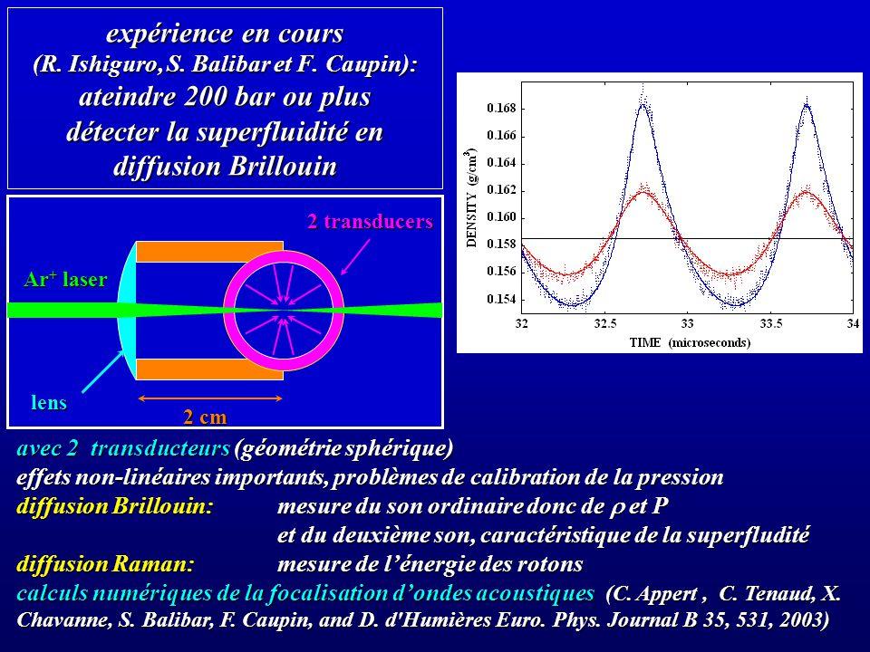 expérience en cours (R. Ishiguro, S. Balibar et F