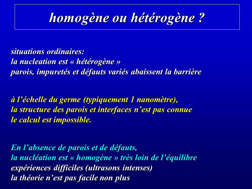homogène ou hétérogène