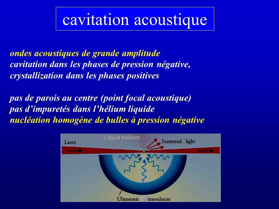 cavitation acoustique