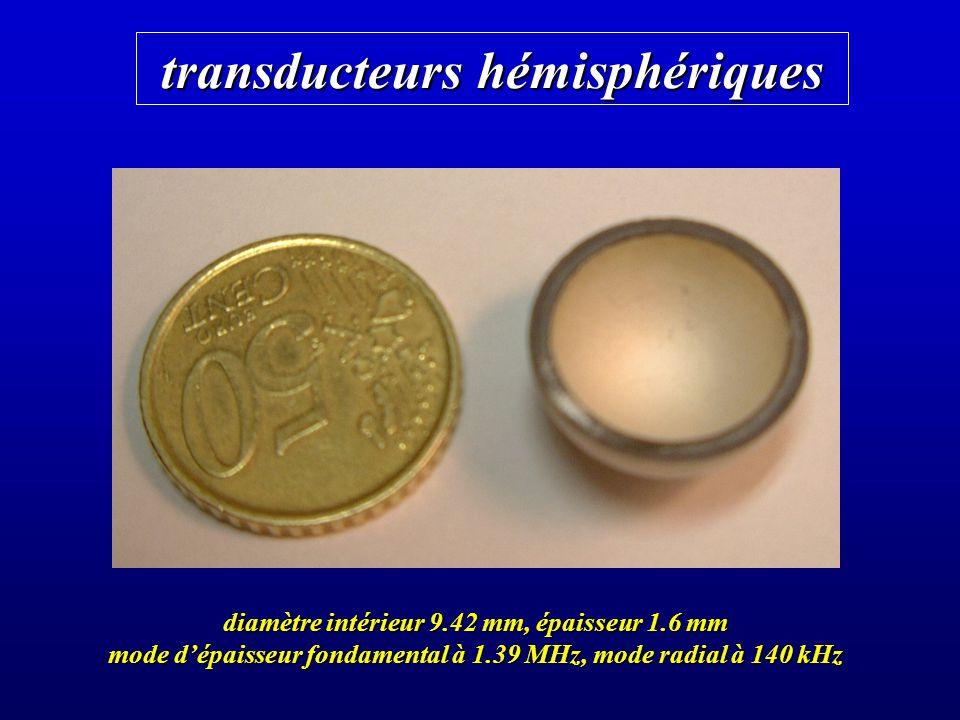 transducteurs hémisphériques