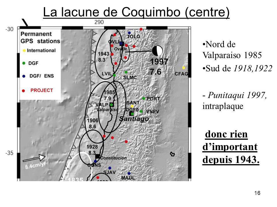 La lacune de Coquimbo (centre)