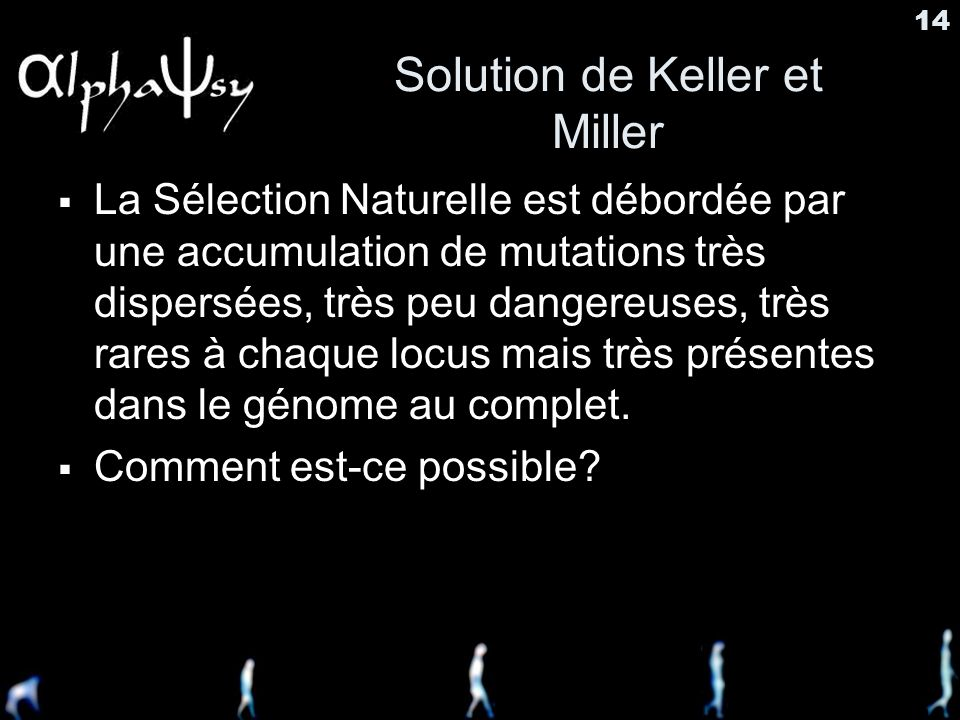 Solution de Keller et Miller