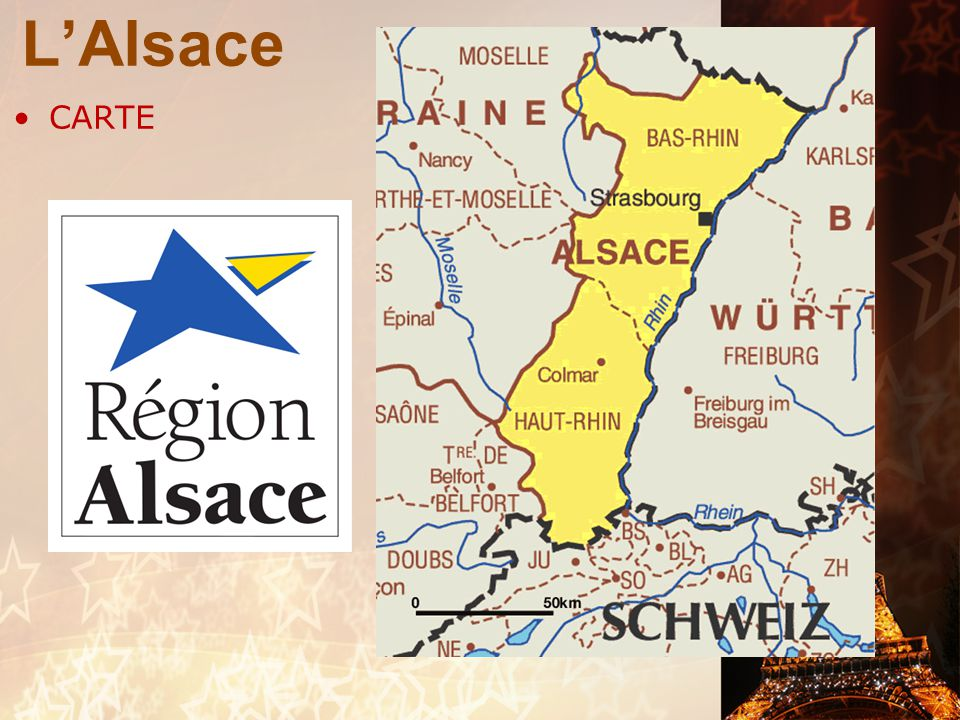 L'Alsace CARTE