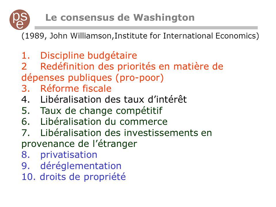 Le consensus de Washington