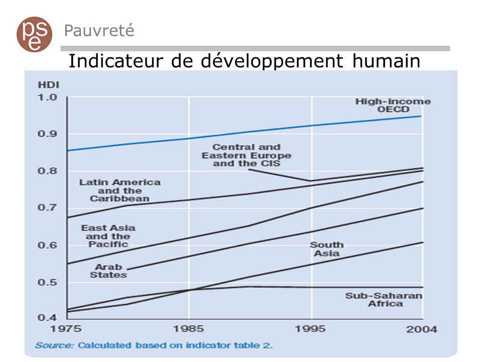 Indicateur de développement humain