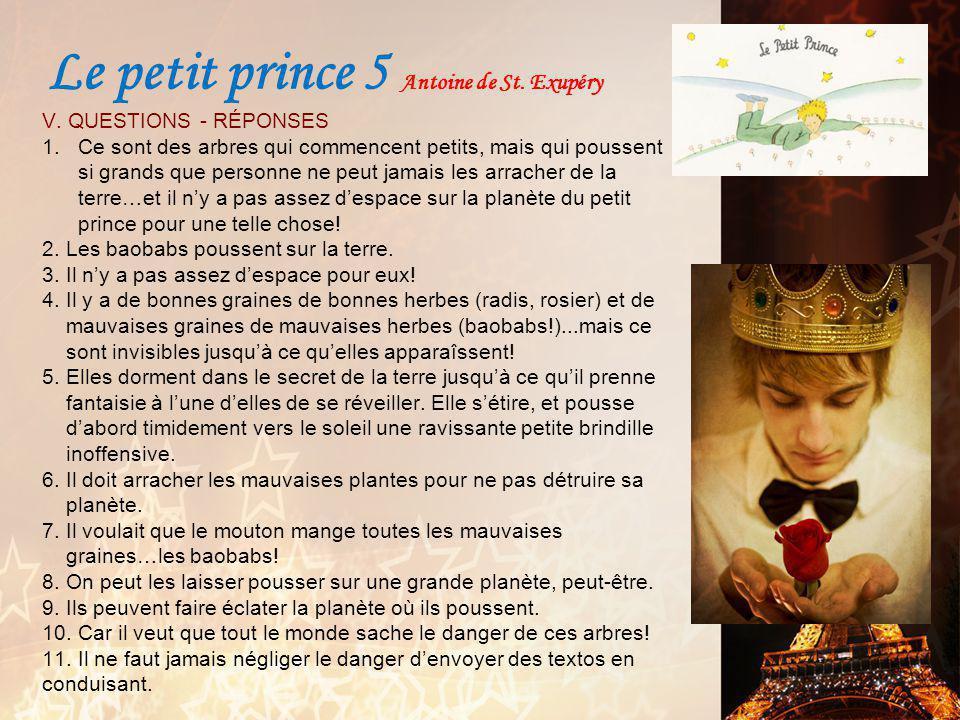 Le petit prince 5 Antoine de St. Exupéry