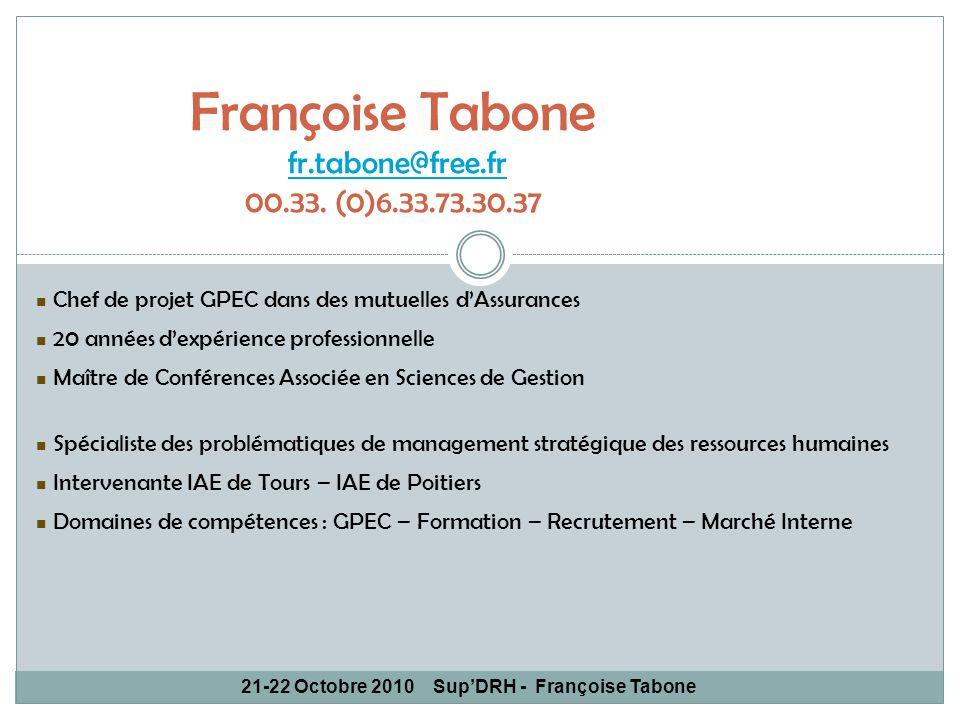 Françoise Tabone fr.tabone@free.fr 00.33. (0)6.33.73.30.37