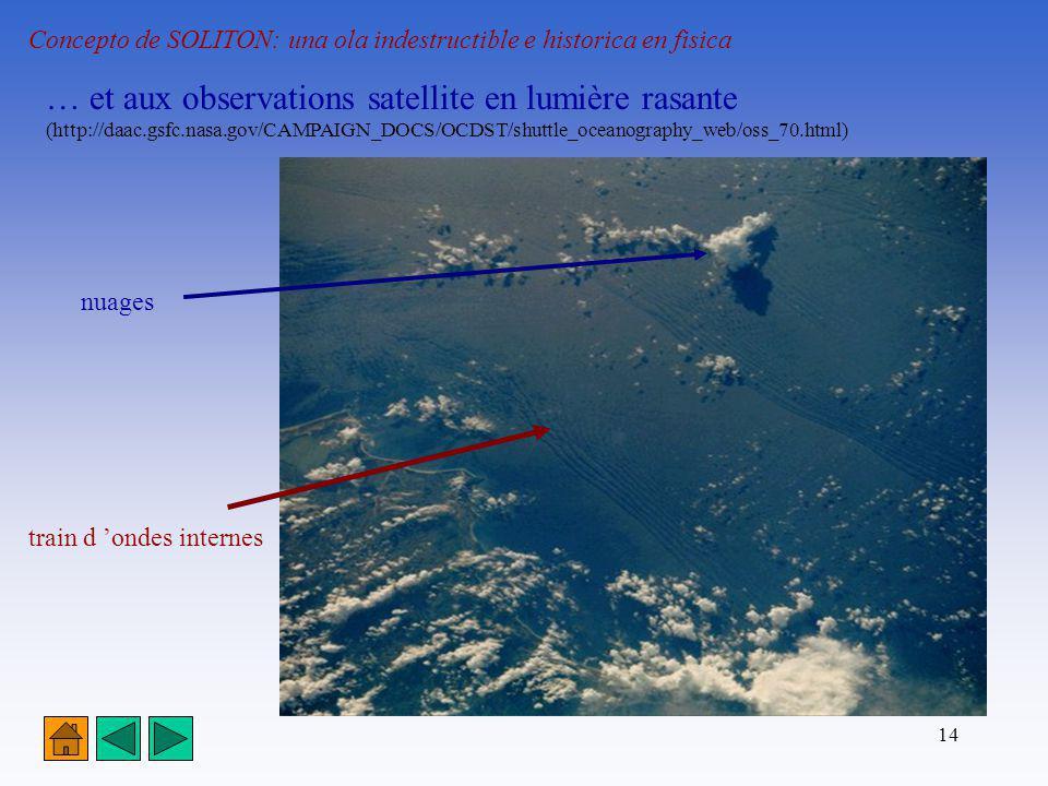 … et aux observations satellite en lumière rasante