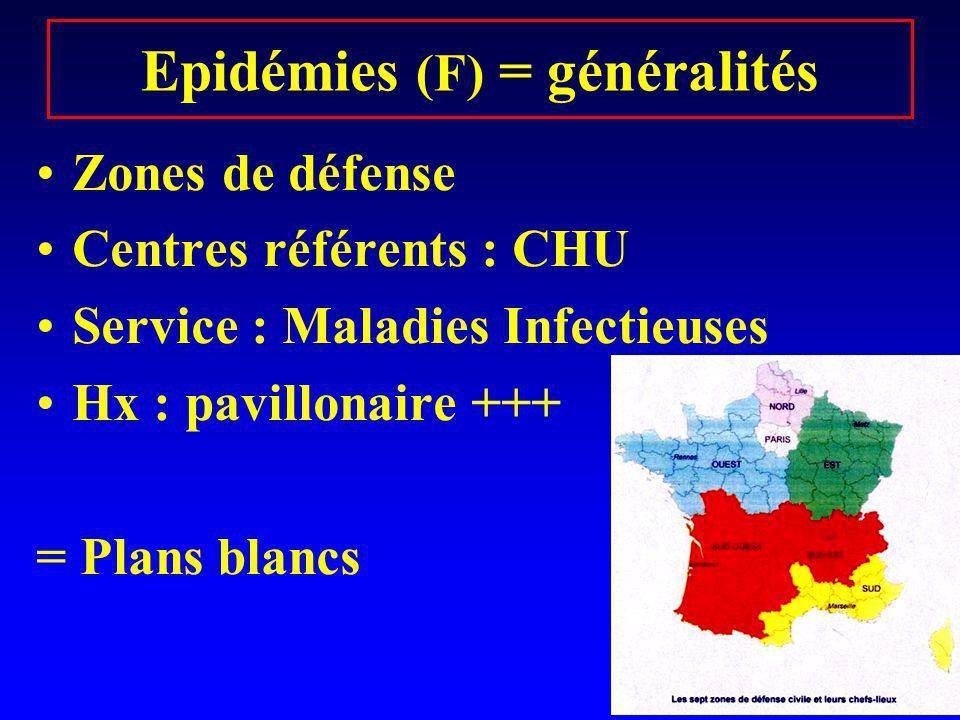 Epidémies (F) = généralités