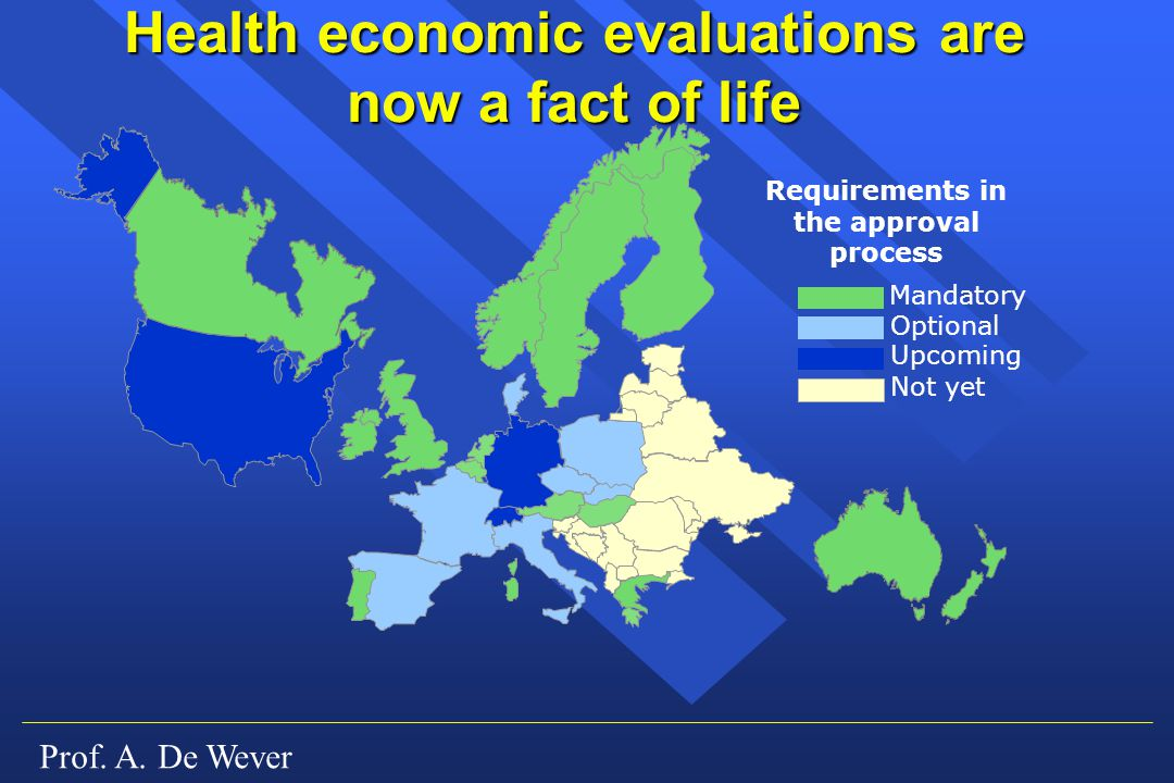 Health economic evaluations are now a fact of life