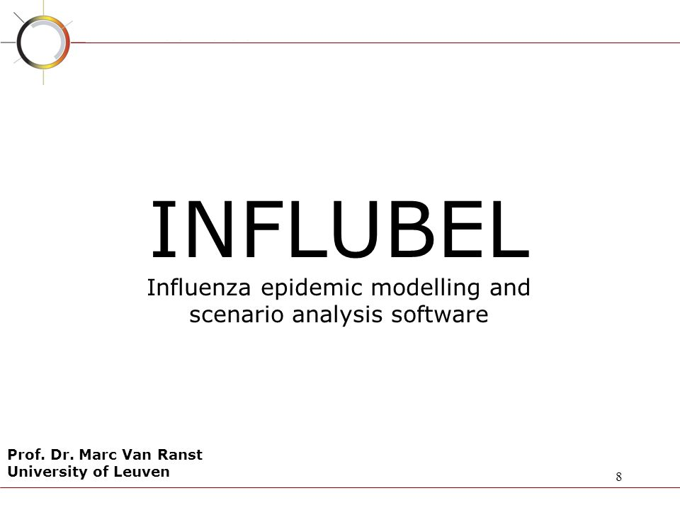 INFLUBEL Influenza epidemic modelling and scenario analysis software