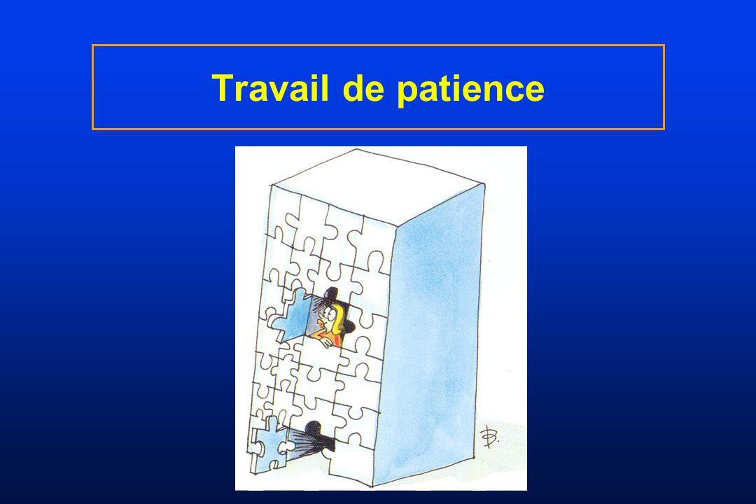 Travail de patience