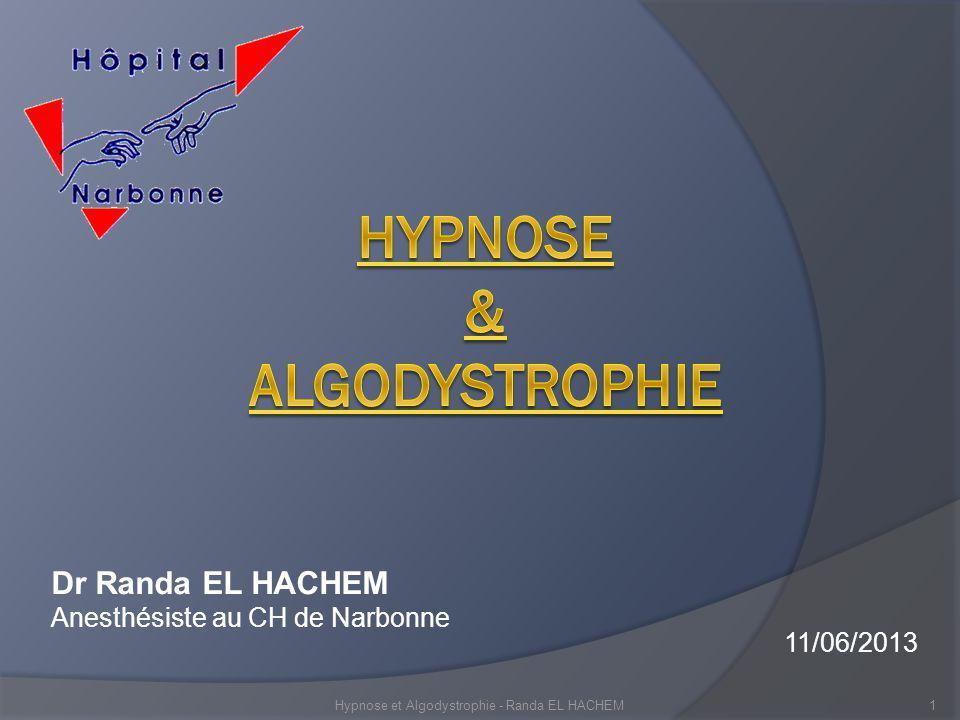 HypNose & ALGODYsTROPHIE