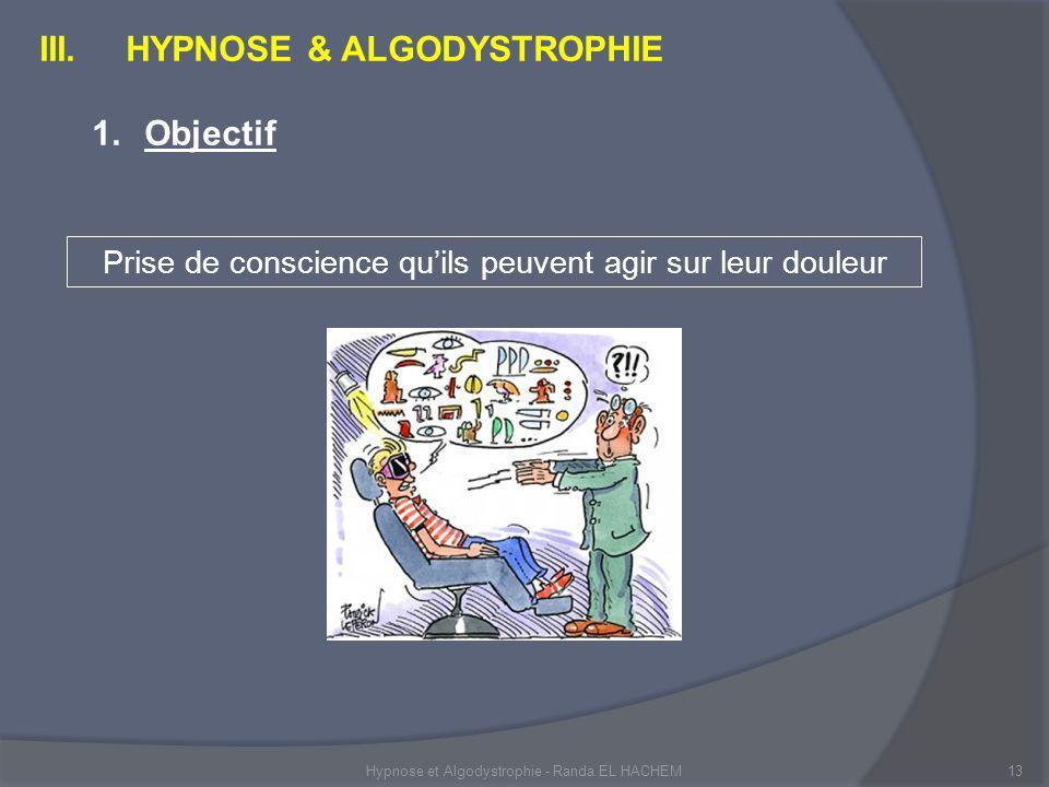 Hypnose et Algodystrophie - Randa EL HACHEM