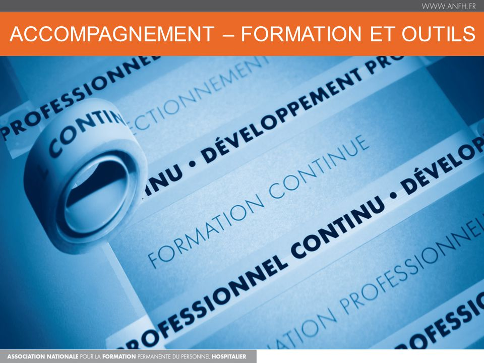 ACCOMPAGNEMENT – FORMATION ET OUTILS