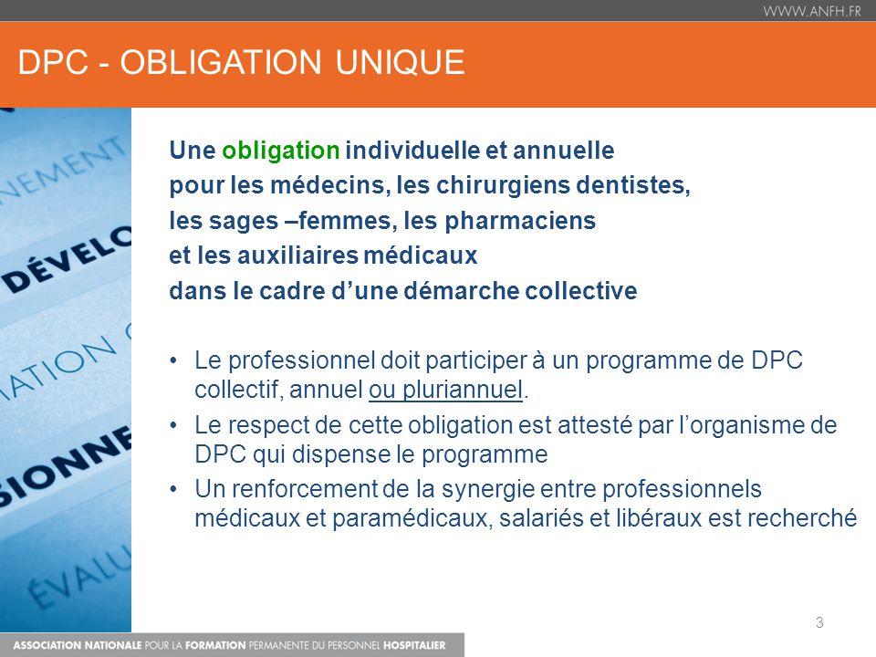 dpc - OBLIGATION UNIQUE