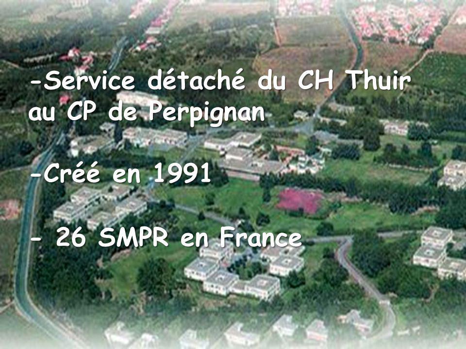 - 26 SMPR en France