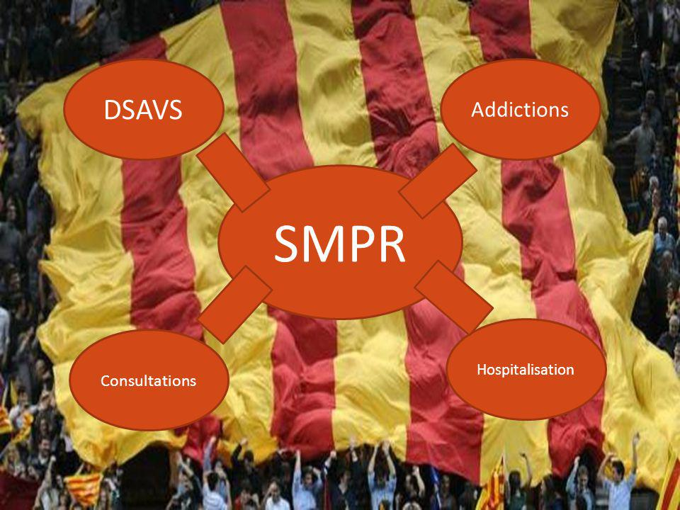 DSAVS Addictions SMPR Hospitalisation Consultations