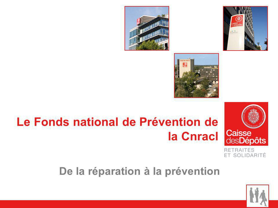 Le Fonds national de Prévention de la Cnracl