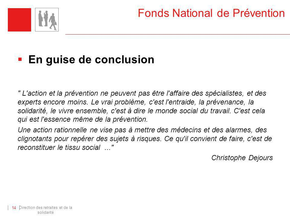 Fonds National de Prévention
