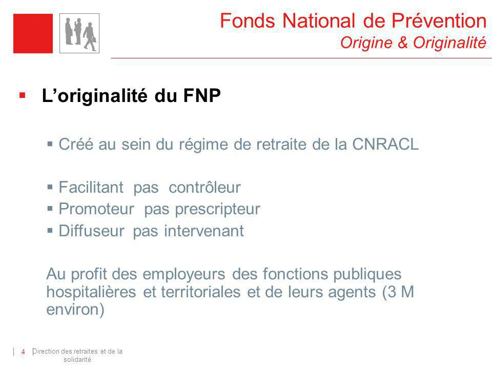 Fonds National de Prévention Origine & Originalité
