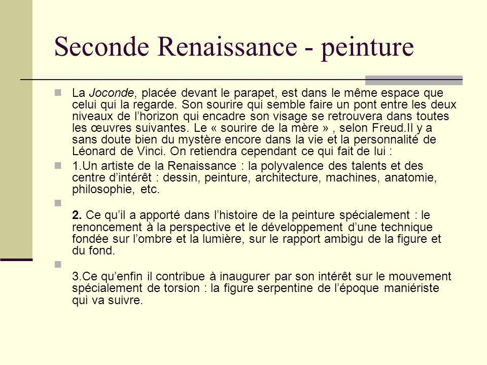 Seconde Renaissance - peinture