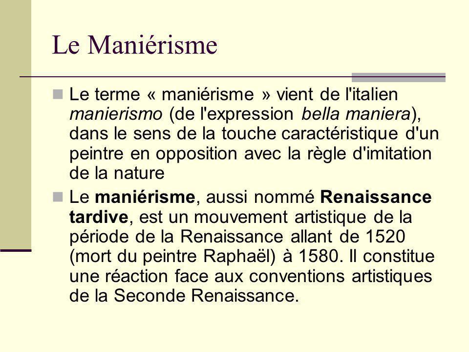 Le Maniérisme