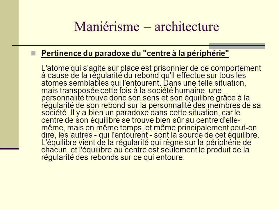 Maniérisme – architecture