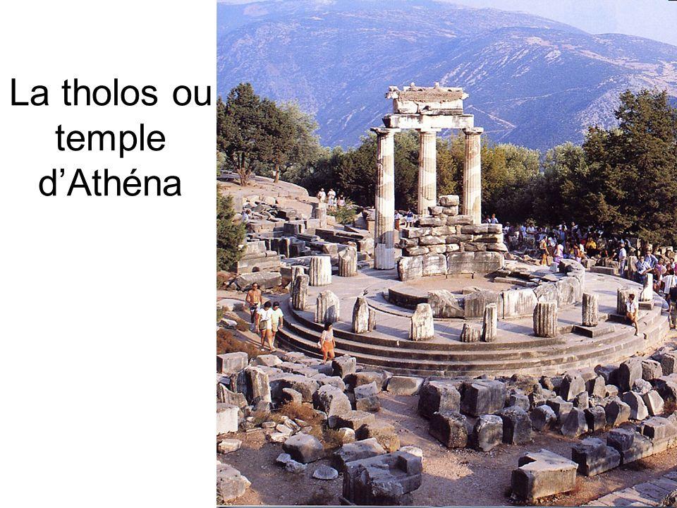 La tholos ou temple d'Athéna