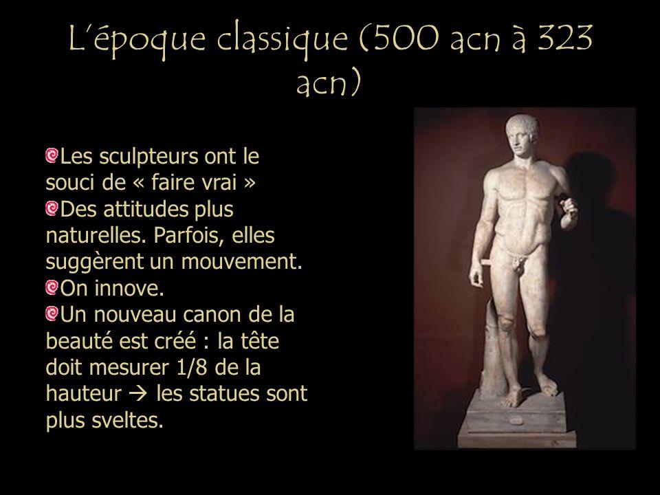 L'époque classique (500 acn à 323 acn)