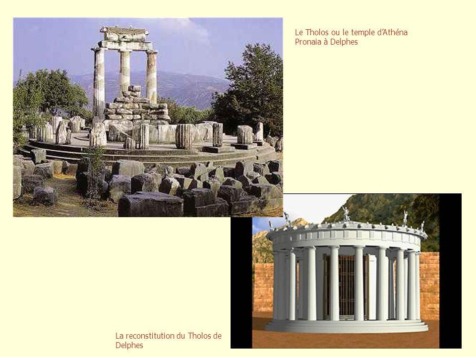 Le Tholos ou le temple d'Athéna Pronaia à Delphes
