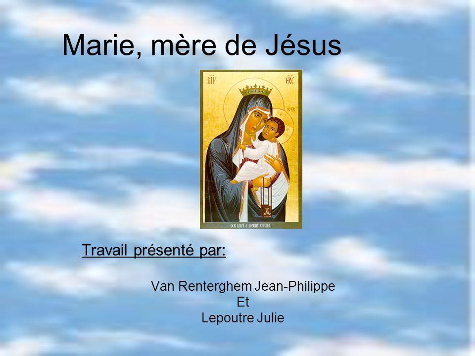 Travail présenté par: Van Renterghem Jean-Philippe Et Lepoutre Julie