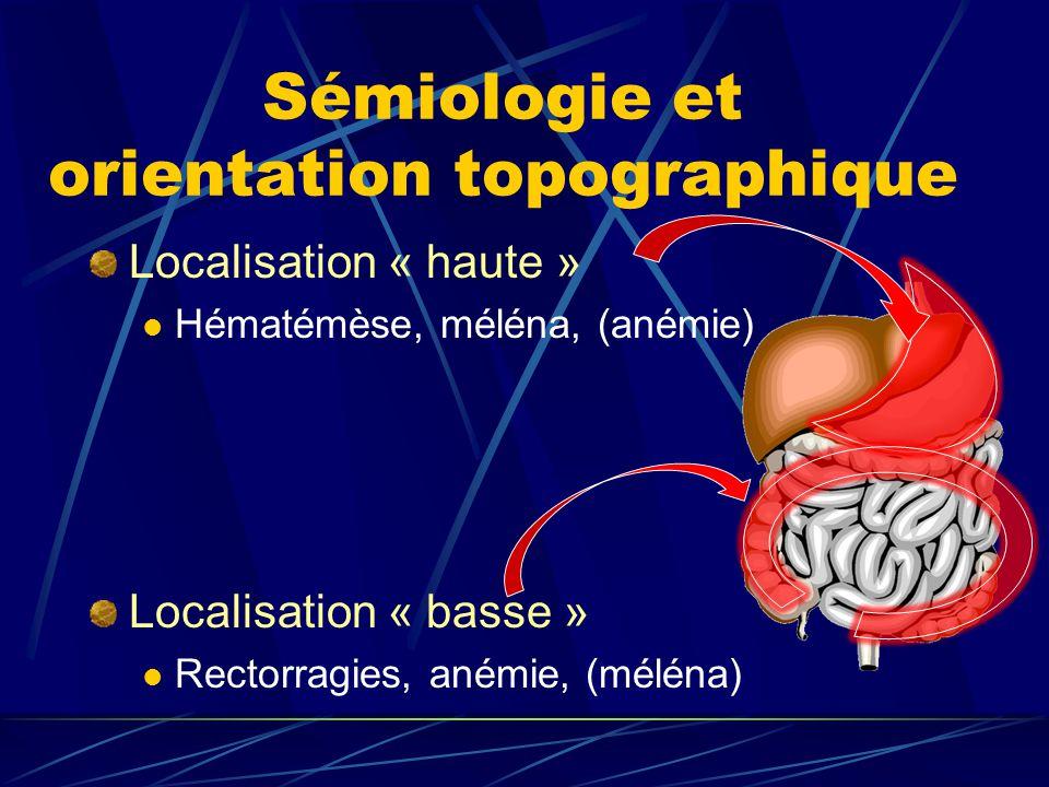 Sémiologie et orientation topographique