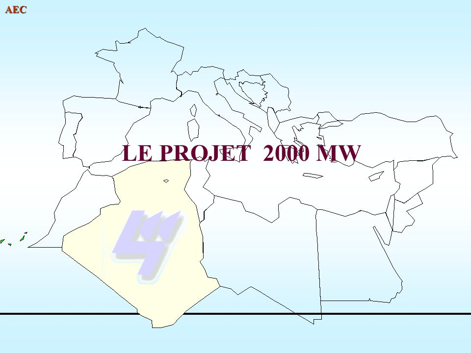 LE PROJET 2000 MW