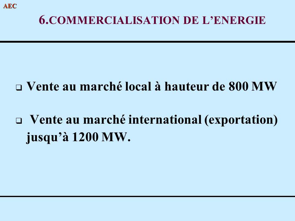 6.COMMERCIALISATION DE L'ENERGIE