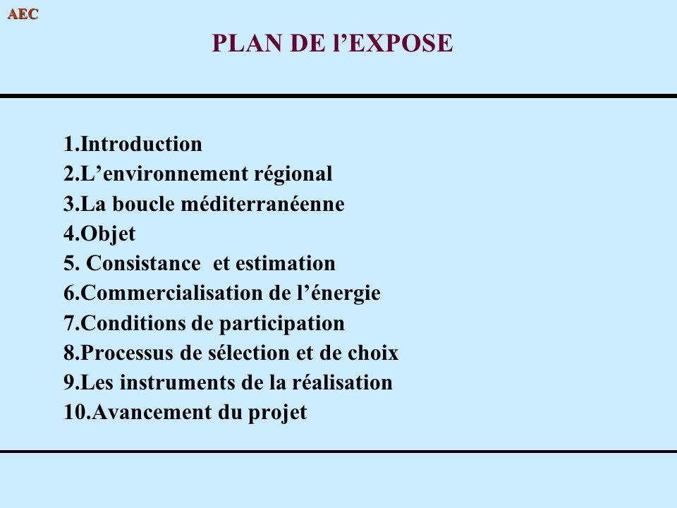 PLAN DE l'EXPOSE 1.Introduction 2.L'environnement régional