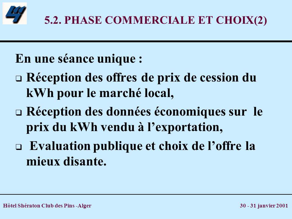 5.2. PHASE COMMERCIALE ET CHOIX(2)